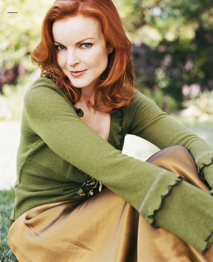 Flattering color for redheads - TentGirl
